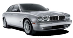 Chauffeur driven cars in Staines area, including the long wheel based version of the new Jaguar XJ